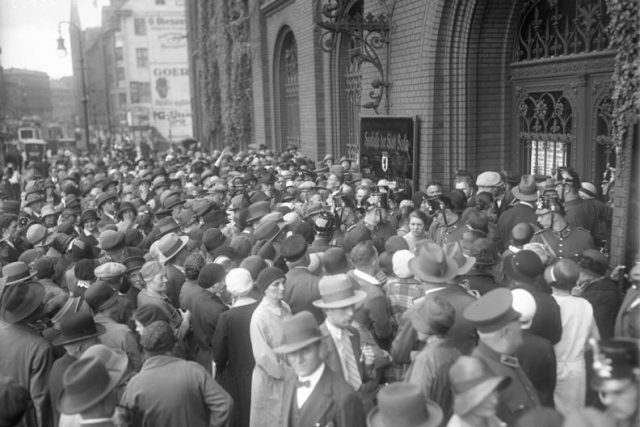 Bank Run Great Depression