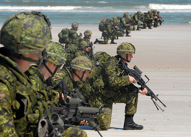 Canada must increase it's military spending, to ensure our country is protected from future threats.