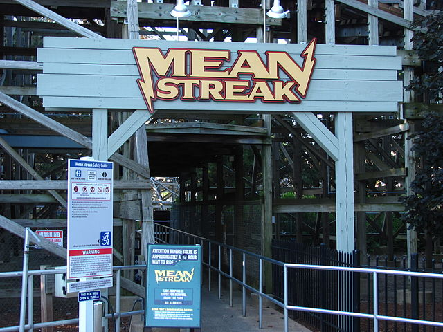 Cedar Point is closing the iconic Mean Streak wooden roller coaster. Mean Streak is the tallest wooden roller coaster in the world.