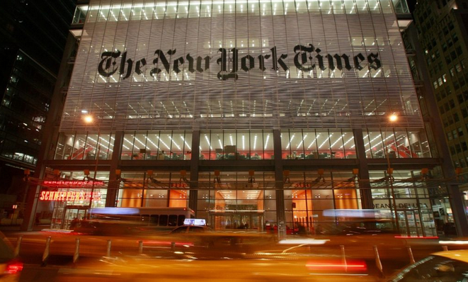 Apple Blocks New York Times In China