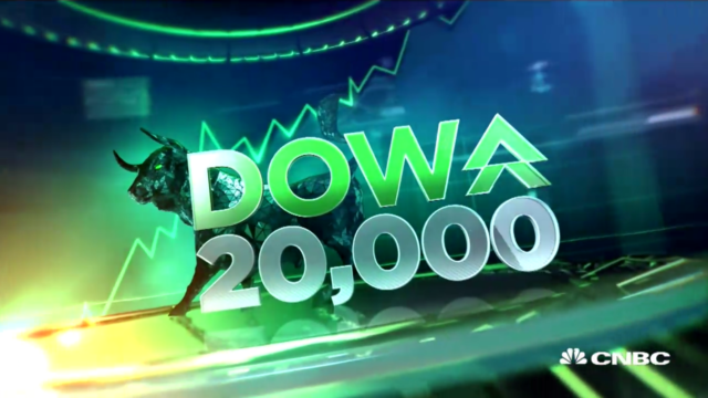 Dow Hits Historic 20,000 Mark For The First Time Ever