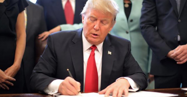 Trump Executive Order Slashes Government Regulations