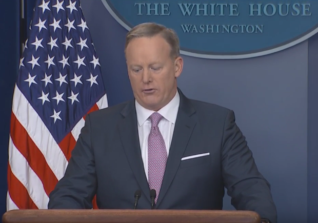 WATCH - Sean Spicer's First Full Length Press Briefing