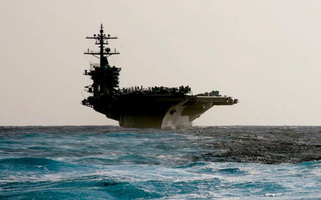 In Rebuke To Beijing, America Sends Carrier To South China Sea