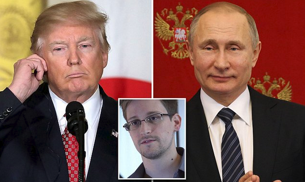 Is Russia Planning To Give Edward Snowden To Trump As A 'Gift'?
