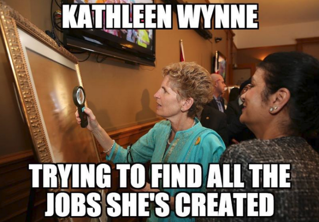 Kathleen Wynne's Approval Rating Drops Again