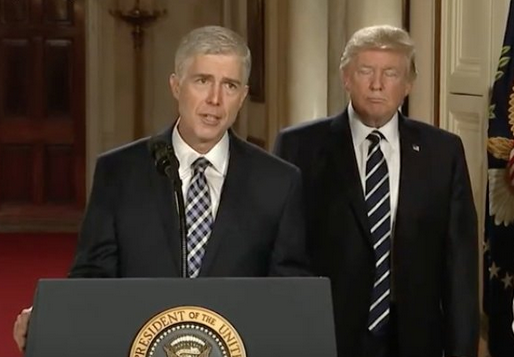 Neil Gorsuch - Donald Trump's Supreme Court Pick - Disheartened & Demoralized By His Comments