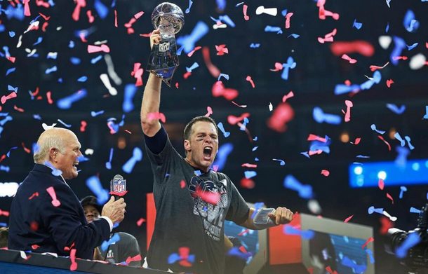 Patriots Beat Falcons To Win Superbowl 51 - Brady and Belichick have 5 Superbowl wins each