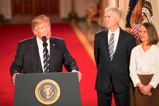Video - Trump Nominates Neil Gorsuch To US Supreme Court