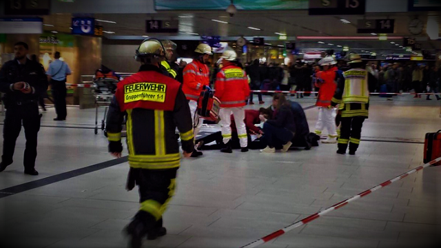 Axe Attack In German Train Station - At Least 5 People Injured