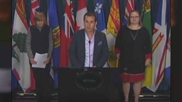 """WATCH: Gay Muslim Man Opposes M-103 """"Islamophobia"""" Motion At Press Conference"""