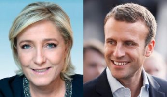 Clear Contrast Between Le Pen & Macron
