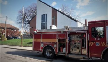 Easter Sunday Arson At Toronto Church