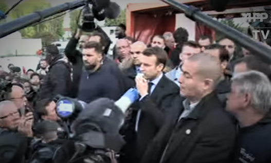 Emmanuel Macron BOOED By Factory Workers
