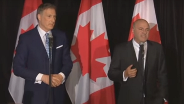 Kevin O'Leary & Maxime Bernier Press Conference
