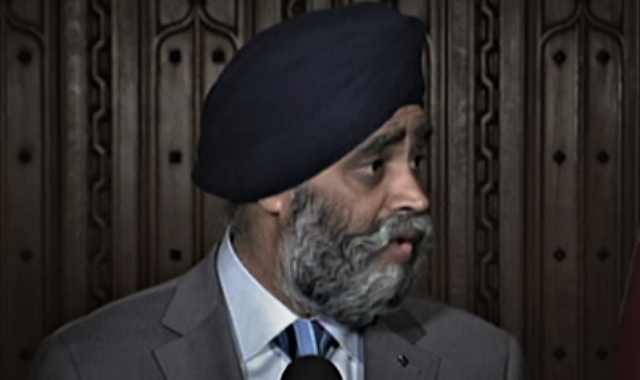 Sajjan Skips Veterans Fundraiser, Will Still Speak To Industry Elites