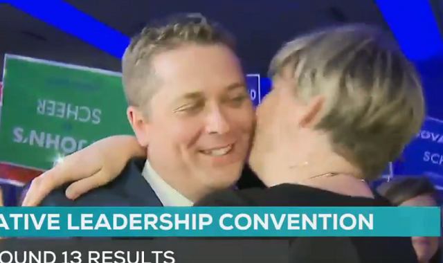 The Moment Andrew Scheer Won Conservative Leadership