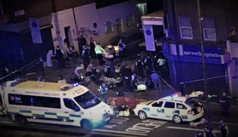 Attack In London - Van Runs Down Worshipers Outside Mosque