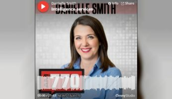 Discussing Intelligence Services With Danielle Smith On News Talk 770