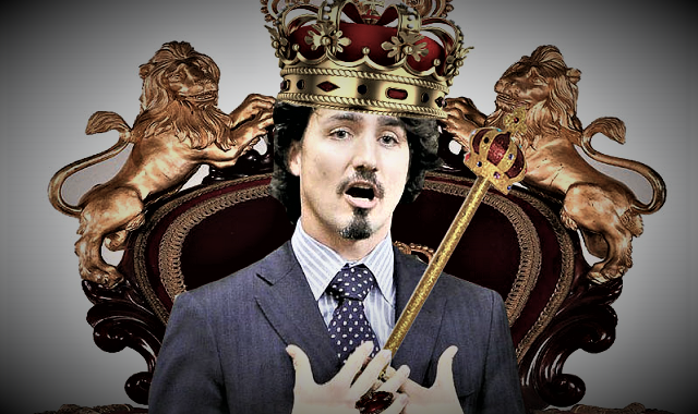 Justin Trudeau Thinks He's A King