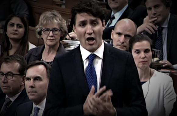 WATCH - 5 Minutes Of Trudeau Getting Owned In Question Period