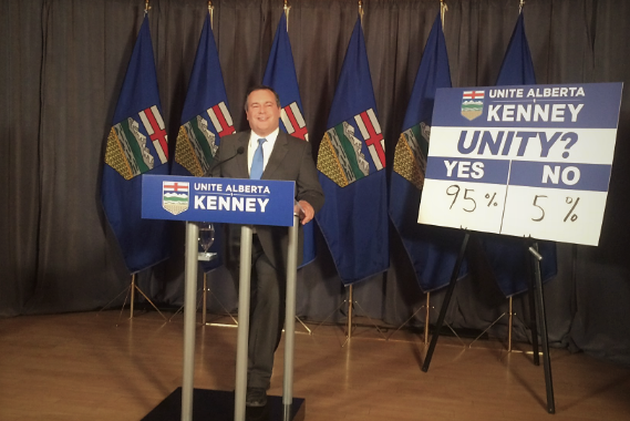 PC Members Vote 95% For Unity With Wildrose Party