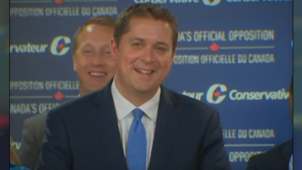 Scheer Pushes Back On Trudeau's NAFTA Fear-Mongering