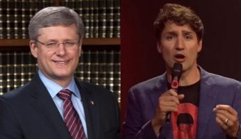 Trudeau Defends Khadr Payment While Harper Reaches Out To Victims