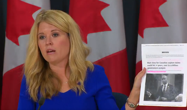 MP Michelle Rempel Rips Trudeau's Irresponsible Tweet Amid Escalating Border Crisis