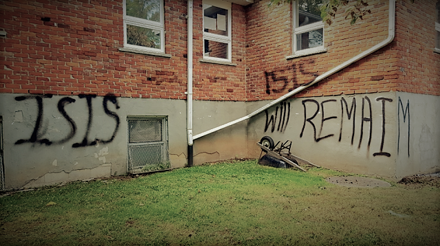 Ontario Baptist Church Set On Fire & Vandalized With Pro-ISIS Graffitti