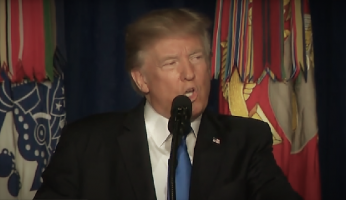 Trump Speech On U.S. Afghanistan Strategy