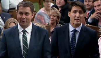 Scheer Rips Trudeau For Hanging Out With Billionaires & Bankers While Shutting Out Middle Class
