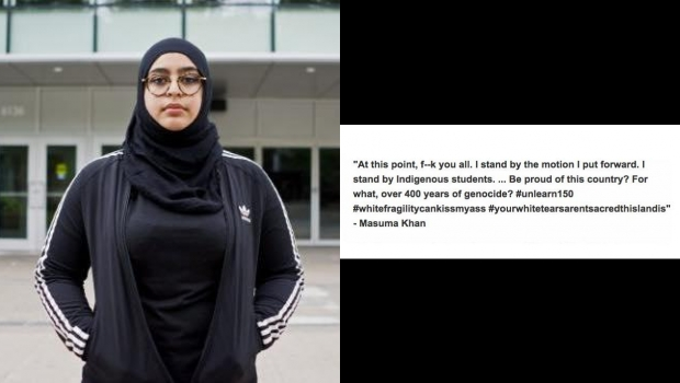 Amazing Letter From Dalhousie University Student Speaking Out Against VP Masuma Khan