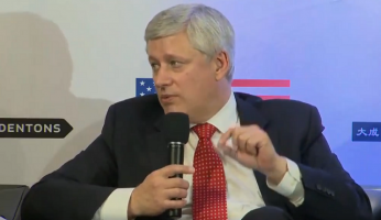 Former PM Stephen Harper Speaks About Past Free Trade Agreements