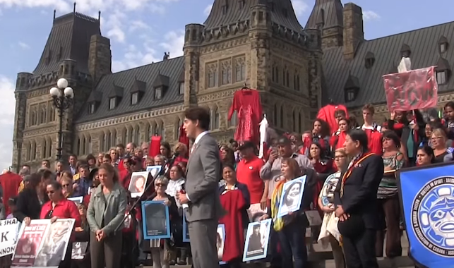Indigenous Activists Call Out Trudeau For His Empty Words