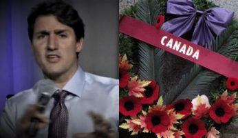 Trudeau Government Cuts Funding For Remembrance Day Wreaths