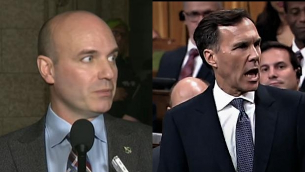NDP Ethics Critic Says Liberal Minister Told Him Bill Doesn't Even Know He's In Trouble Yet