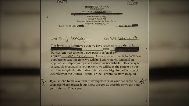 Ontario Patient Faced 4.5 YEAR Wait For Neurologist Appointment