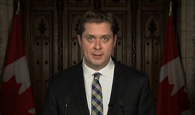 Scheer Calls For The Resignation Of Bill 'Moneybags' Morneau