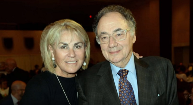 Barry Sherman and Honey Sherman