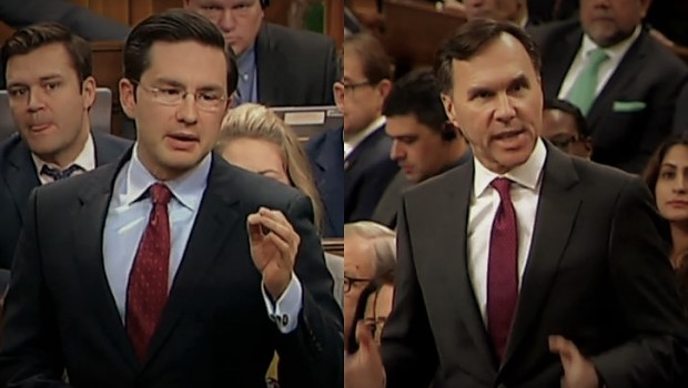 Full Question Period Battle Between Pierre Poilievre & Elitist Moneybags Morneau
