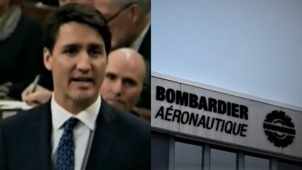 Trudeau Bombardier Emissions,