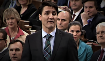 Trudeau approval rating fall