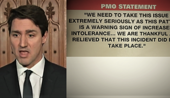 Trudeau PMO Statement Fake Hijab Attack Hoax