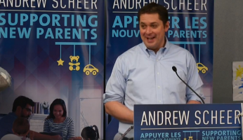 Andrew Scheer Supporting New Parents