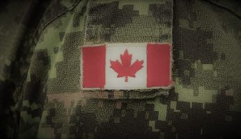 Canadian Veterans Flag