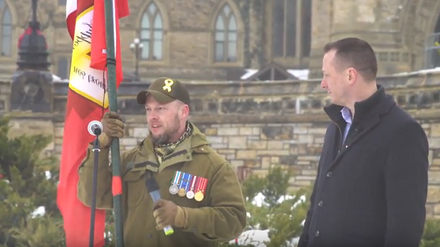 Canadian Veterans Protest