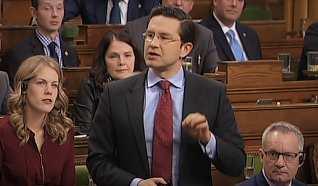 Pierre Poilievre Trudeau Liberals International Bankers