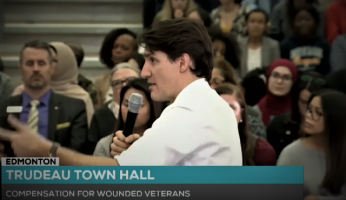 Trudeau Town Hall Canadian Veterans Betrayal