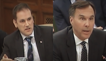 Dan Albas Moneybags Morneau